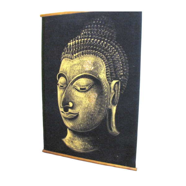 Buddha kép textilen