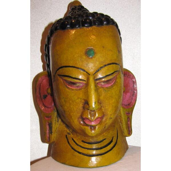 Buddha maszk festett 6