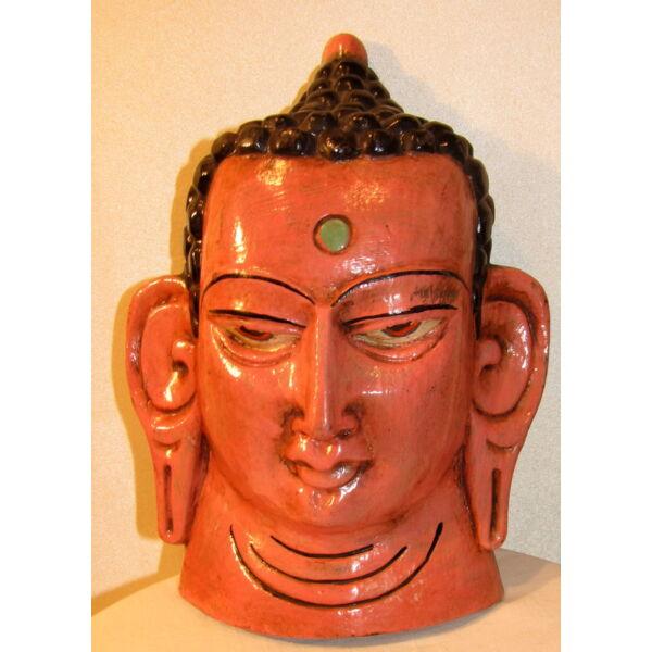 Buddha maszk festett 8
