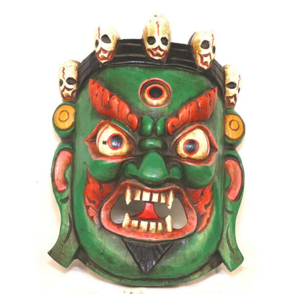 Mahakala zöld maszk