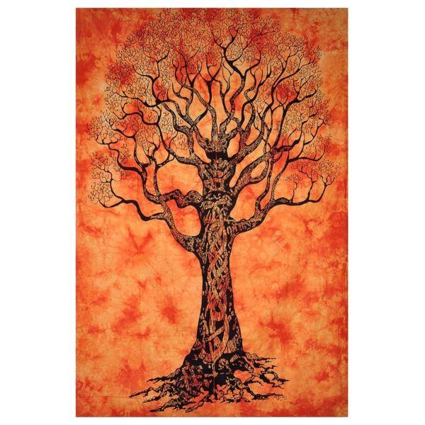 Száraz fa narancsban
