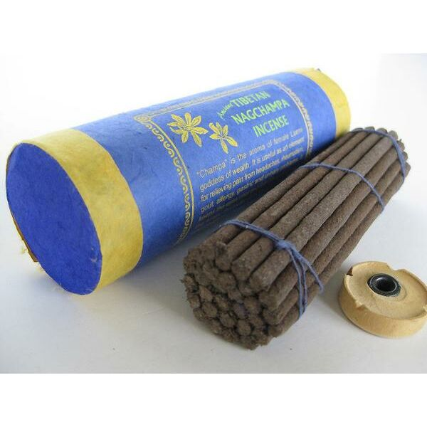 Tibeti nagchampa füstölő