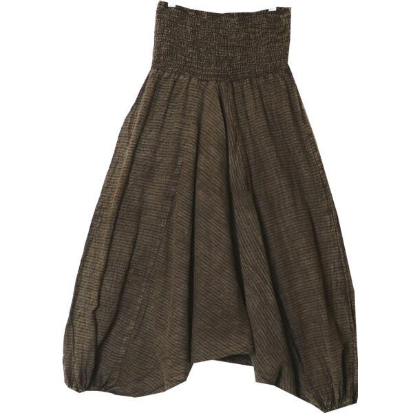 Vászon aladdin nadrág barna