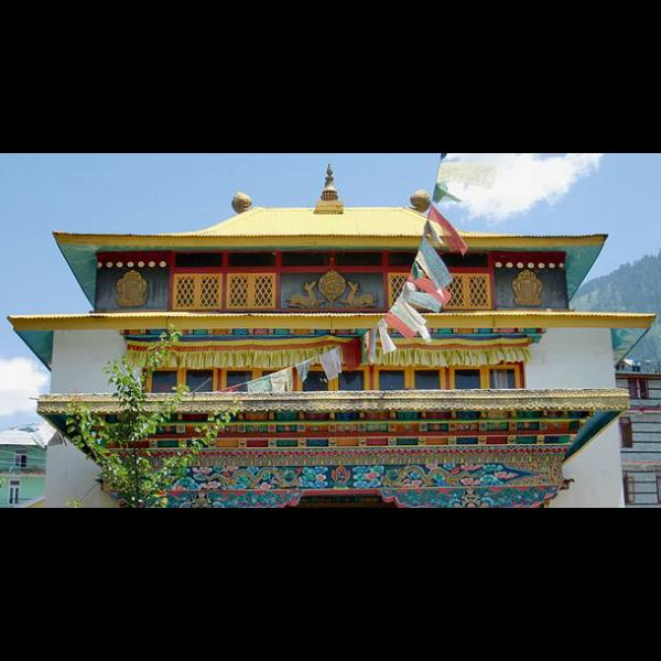 Tibeti ház dísz shambo