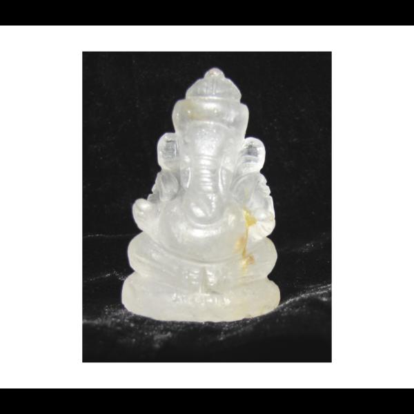 Ganesha kristály amulett 4,5*2,5 cm