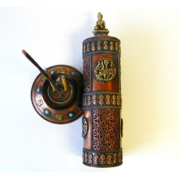 Füstölő égető bronz réz_product