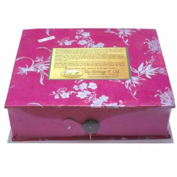 Speciális 12 fajta nepáli tea válogatás ünnepi csomagolásban_product