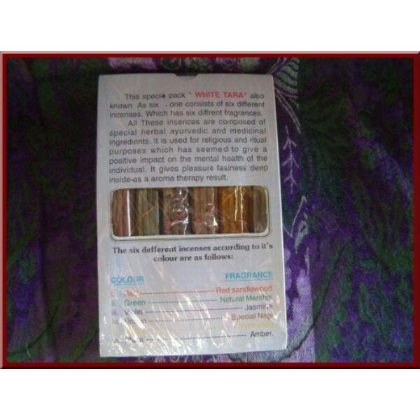 Fehér Tara füstölő csomag 6 féle_product