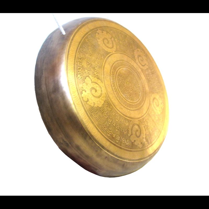 Gong mintás1,2 kg. 30 cm
