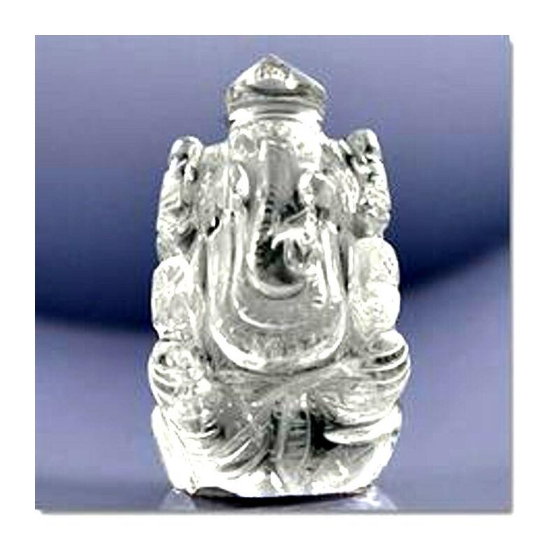 Ganesha Sphatik  kristály amulett