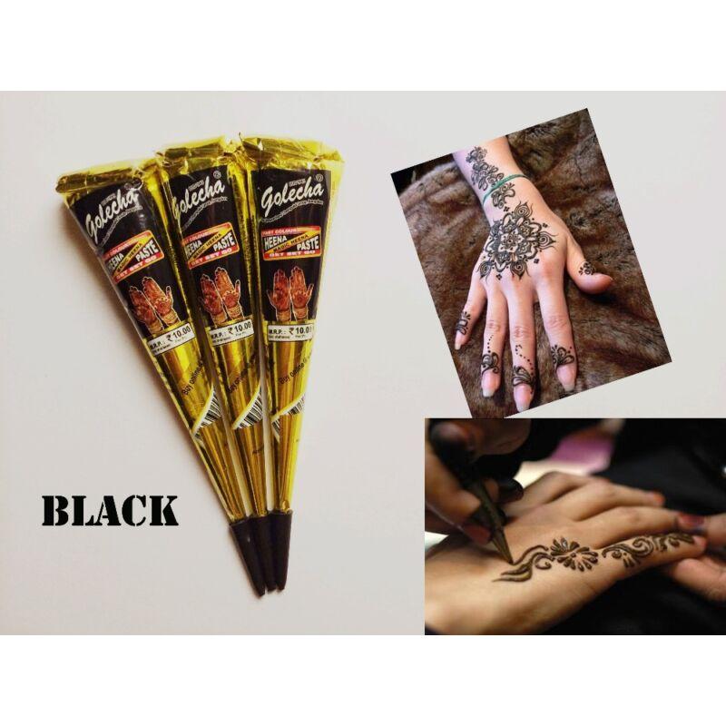 Gyors henna fekete indiai 1 tölcsér